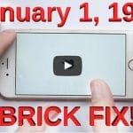 Cambiar la fecha de un iPhone y dejarlo inservible.