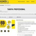 Masmovil saca una tarifa plana ilimitada en minutos para profesionales y particulares por 99€/mes.