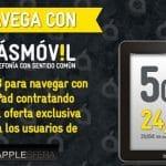 Una promoción de MASMOVIL de 5GB por 24,5€/mes.