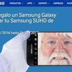 """Llévate de regalo un Samsung Galaxy S7 al comprar tu Samsung SUHD de 55"""""""