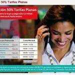 Vodafone ofrece sus tarifas planas al 50% hasta Febrero 2011: 14,95€/mes 1000 minutos, 350 min por 9,95€ de 18 a 8 y fines de semana 24h