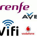 Telefonica y Vodafone pujarán por el WIFI de RENFE.