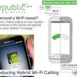 RepublicWireless: Una operadora móvil hibrida Wifi-Red Móvil en USA. ¿ Alguien lanzará algo similar en España?