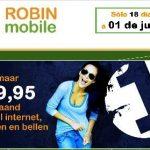 Robin Mobile creará la primera tarifa plana real en Holanda por 40 euros al mes.