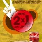 Promociones para comer barato: Rodilla 2×1, Pans 2×1 y Mc donalds 2menus por8€