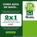 Rodilla vuelve a sacar 2×1 en sus menus si te registras en su web del 22 al 24 de mayo.