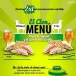 2 x 1 en Rodilla: come barato. 8 sandwitch + 2 bebidas por 6,4 euros. Promociones para comer barato en Pans aún vigentes.