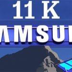 SAMSUNG trabaja en pantallas 11K. ¿Tiene sentido?
