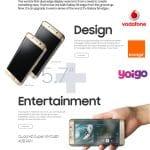 Comprar un Samsung S6 edge+ cuesta casi lo mismo en cualquier operador.