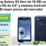 Groupon comercializa un Samsung Galaxy S3 libre con 16GB por 479€ gastos de envio incluidos. (quedan 22 horas).