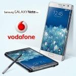 SAMSUNG GALAXY NOTE EDGE llega a España en exclusiva con Vodafone para poder disfrutar del 4G+.
