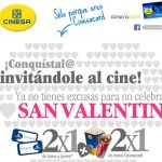 Cinesa realiza un 2×1 para celebrar San Valentín a sus clientes CinesaCard.