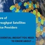 Los satélites de alto rendimiento HTS podrían traer Internet en los aviones.