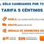Simyo saca una tarifa de 5c/min con 300MB gratis consumo minimo 7€/mes