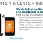 Simyo es consciente que para competir en Internet móvil hay que reducir la velocidad. Ofrece por 12,95€/mes 1GB sin cobrar exceso limitando a  64kb.