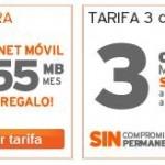 Simyo mejora sus tarifas de Internet regalando 555 MB en su tarifa de 5c/min y ofreciendo 650MB en su tarifa de 3c/min.