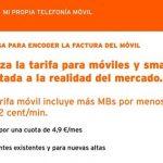 Simyo lanzará mañana día 29 de Noviembre una tarifa de 2c/min con 600MB por 4,9€/mes.