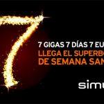 SIMYO lanza 7GB por 7€ solo esta semana santa.