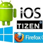 Los sistemas operativos móviles alternativos a Android e IOS: ¿Todos para móviles de gama media baja? Tizen, Firefox, y Windows Mobile.