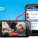 Skype 3 se actualiza en Android con una mejora en los codecs y adaptación mejor a las pantallas grandes.