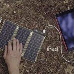 Solar Paper: Una solución solar para cargar un iPhone en 2 horas.