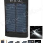 Bancos de energía adicionales para móviles con paneles solares. ¡Geniales!