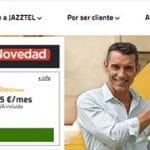 JAZZTEL también apuesta por solo fibra 12 meses: 31,94€ sin alta