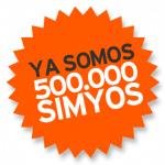 SIMYO celebra sus 500000 clientes liderando las portabilidades. #simyo