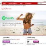 VODAFONE regala hasta 6 meses de Spotify este verano.