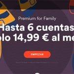Spotify sigue sin ser rentable pero mejora pack familia 14,99€