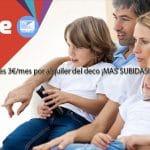 VODAFONE cobrará 3€/mes por alquiler del deco a nuevos clientes.