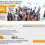 Jazztel regala 100 minutos y 100MB de Internet mejorando la oferta de ONO si contratamos ADSL con ellos.
