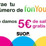 SUOP ofrece 5€ de saldo adicional comprando su SIM a los que porten desde FONYOU.