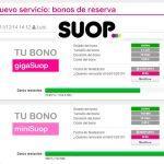 SUOP permitirá contratar varios bonos de mismo tamaño a partir del 15 de Mayo.