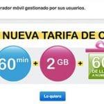 SUOP lanza una interesante tarifa de 2GB y 60 minutos por 10,99€ en contrato.