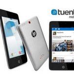 TUENTI comercializa un tablet con 1GB/mes durante un año por 219€ iva incluido.