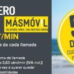 MASMOVIL rebaja estas navidades su tarifa CERO a 4,5€/mes+IVA durante 6 meses.