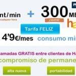 Happymovil dispuesta a atacar a la tarifa de 5cts/min de Simyo con llamadas gratis entre clientes con menor consumo mínimo y menos trafico.