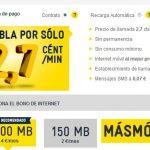 MASMOVIL ofrece su tarifa Lider de 2,7ct/min con Internet desde 2€/mes para pequeños navegantes.