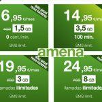 AMENA hará oficiales tarifas en Marzo: 8GB e ilimitadas 24,95€