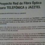 La CNMC ha fijado los precios del acceso de la red vertical de fibra óptica de Jazztel para otros operador.