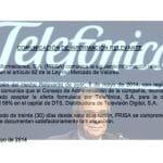 Telefónica compensará a VODAFONE y reclamará dinero a ORANGE por el fútbol.