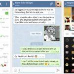 Telegram, una alternativa interesante al WhatsAPP con código fuente libre para asegurar la privacidad y GRATIS.