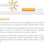 En Chile, la OMV Telestar Móvil consigue paralizar el despliegue de la red 4G.
