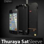Convierte tu iPhone en un móvil vía satelite con un adaptador especial conectado por bluetooth.