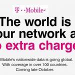 T-Mobile ofrecerá 100 países sin cobrar Roaming mientras en Europa las compañias no quieren el fin del roaming.