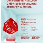Vodafone rebaja la penalización de su Todo en Uno pero sigue exigiendo 24 meses de permanencia y sigue cobrando una penalización inversa absurda. ¡Cuidado!