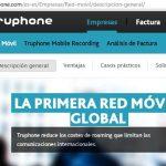 Truphone, un servicio para empresas con tarifas locales en varios países para evitar el roaming.