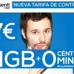 Tuenti saca una nueva tarifa de 1GB con CERO céntimos por 7€+IVA la tarifa.