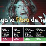 TUENTI lanza su convergencia de fibra con más cobertura desde 36€.